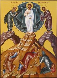 تجلي الرب يسوع على جبل طابور
